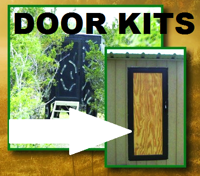 Rv Style Deerblind Deerstand Kd Door Kit With Locking