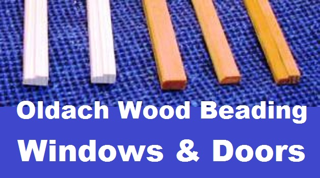 Oldach Wood Window Glazing Bead Wood Standard Profile 144