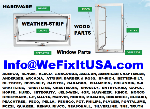 Best USA Source for Online Shopping and Ordering Window Glazing Bead and Weatherstripping.